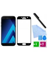 Zaokrąglone szkło hartowane 3D do telefonu Samsung Galaxy A5 2017 na cały ekran, 9H, w dobrej cenie, tempered glass, curved