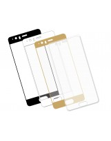 Zaokrąglone szkło hartowane 3D do telefonu Huawei P10 , w dobrej cenie, 9H, tempered glass