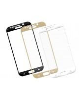Zaokrąglone szkło hartowane 3D do telefonu Samsung Galaxy S6 Edge Plus, w dobrej cenie, tempered glass, 9h