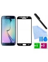 Zaokrąglone szkło hartowane 3D do telefonu Samsung Galaxy S6 Edge Plu, w dobrej cenie, temperd glass, 9 h