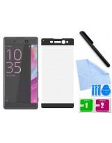 Zaokrąglone szkło hartowane 3D do telefonu Sony Xperia XA Ultra F3211, F3213, F3215 - kolory