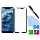 Zaokrąglone szkło hartowane 3D do telefonu Nokia X5 (2018),  Nokia 5.1 Plus, TA-1109 - tempered glass, 9H, w dobrej cenie