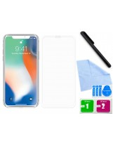 Zaokrąglone szkło hartowane 3D do telefonu Apple iPhone XS Max 6.5-cala - tempered glass, 9H, curved