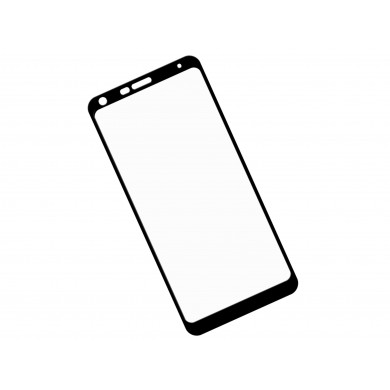 Zaokrąglone szkło hartowane 3D do telefonu LG Q7 Q610EM - tempered glass, w dobrej cenie
