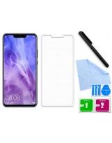 Zaokrąglone szkło hartowane 3D do telefonu Huawei NOVA 3 - kolor CZARNY