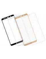 Zaokrąglone szkło hartowane 3D do telefonu Samsung Galaxy A7 2018 - w dobrej cenie, tempered glass