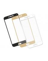 Zaokrąglone szkło hartowane 3D do telefonu Huawei P8 lite 2017 - kolort, w dobrej cenie, curved,9H