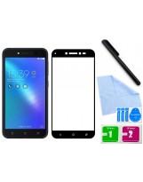 Zaokrąglone szkło hartowane 3D do telefonu Asus ZenFone Live ZB501KL - tempered glass, curved, 9H