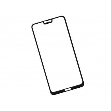 Zaokrąglone szkło hartowane 3D do telefonu Nokia X6 2018 TA-1099 - kolor CZARNY