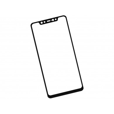Zaokrąglone szkło hartowane 3D do telefonu Xiaomi Mi 8, w dobrej cenie, tempered glass, 9h
