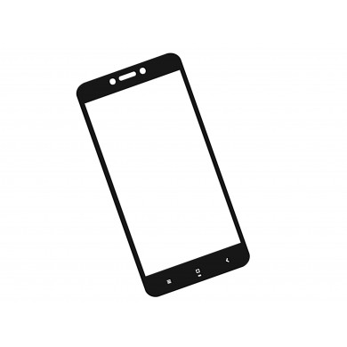 Zaokrąglone szkło hartowane 3D do telefonu Xiaomi Redmi 4X - tempered glass, w dobrej cenie, 9H