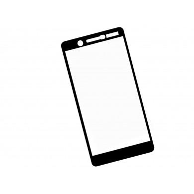 Zaokrąglone szkło 3D do telefonu Nokia 7 - dobrej cenie, tempered glass, 9H