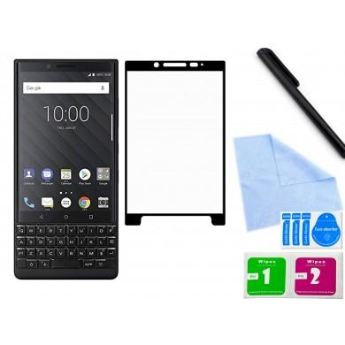 Zaokrąglone szkło hartowane 3D do telefonu Blackberry KeyTwo - w dobrej cenie, tempered glass