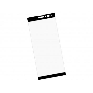Zaokrąglone szkło hartowane 3D do telefonu Sony Xperia XA2 Plus (2018) - kolor CZARNY