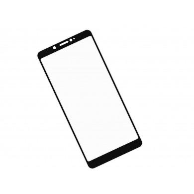 Zaokrąglone szkło hartowane 3D do telefonu ZTE nubia V18 - kolor CZARNY - tempered glass, w dobrj cenie