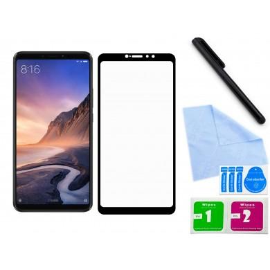 Zaokrąglone szkło hartowane 3D do telefonu Xiaomi Mi Max 3 - w dobrej cenie, tempered glass, na cały ekran, 9H