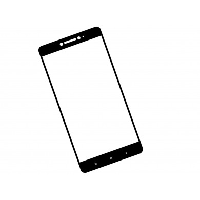 Zaokrąglone szkło hartowane 3D do telefonu Xiaomi Mi Max 2 - w dobrej cenie, tempered glass, na cały ekran, 9H