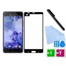 Zaokrąglone szkło hartowane 3D do telefonu HTC U Ultra, tempered glass, 9h, w dobrej cenie