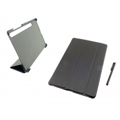 CZARNE etui zamykane (książkowe) do tabletu Samsung Galaxy Tab S6 10.5 SM-T860 SM-T865 2019