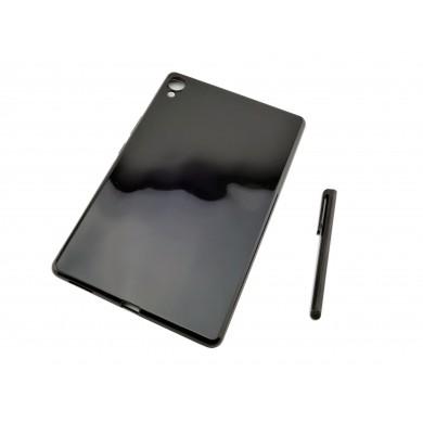 CZARNE silikonowe etui do tabletu Huawei Mediapad M6 8,4 cala