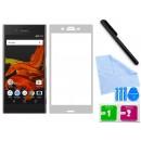 Zaokrąglone szkło hartowane 3D do telefonu  Sony Xperia XZ F8331  - w dobrej cenie, tempered glass, 9H