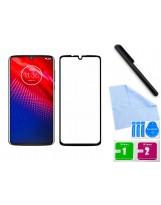 Zaokrąglone szkło 3D do telefonu Motorola MOTO Z4 / MOTO Z4 Force - dobrej cenie, tempered glass, 9H