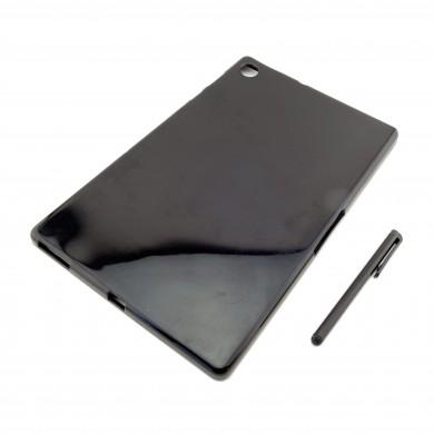 CZARNE etui silikonowe Lenovo Tab M10 FHD Plus 10.3 TB-X606F TB-X606X