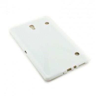 Dedykowane, silikonowe etui (plecki) do tabletu Samsung Galaxy Tab S (T705C, T700) 8.4 – czarne, dopasowane